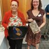 Pat-Greaves-and-Carol-Simpson-with-their-raffle-prizes